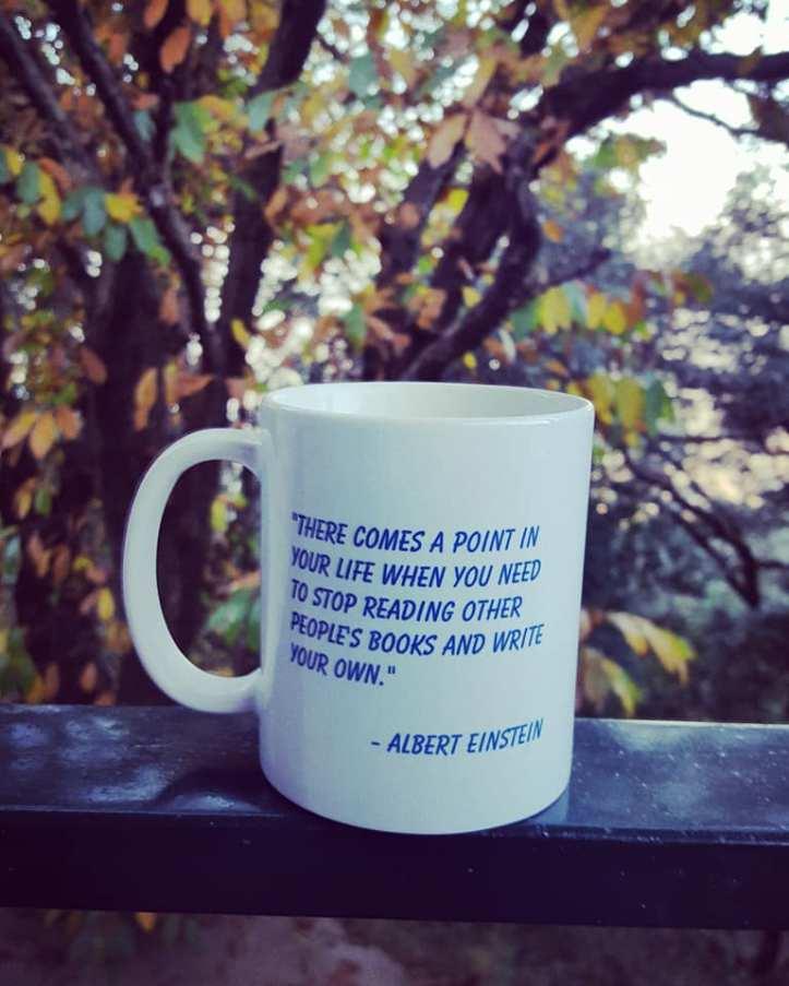 Einstein mug
